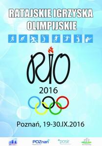 RIO 2016 plakat